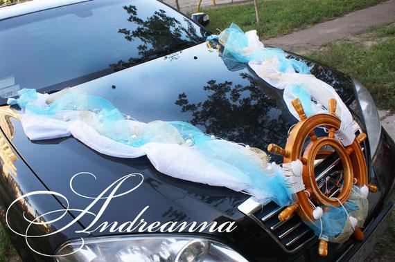 Украшение для авто в морском стиле (изготовленно по эскизам клиента), стоимость 1000 грн 130долларов