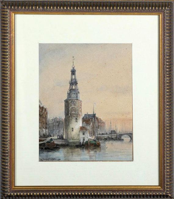 te_koop_aangeboden_een_aquarel_van_de_nederlandse_kunstschilder_cornelis_christiaan_dommelshuizen_1842-1928