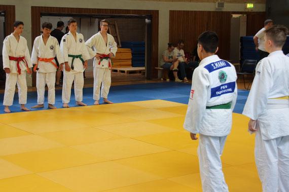 SGS Judo-Team vs. PSV Duisburg