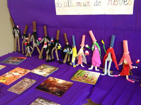 réalisation de marionnettes classe de CE2