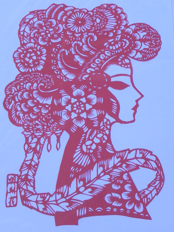 Jifeng 15 Chinese paper cutting