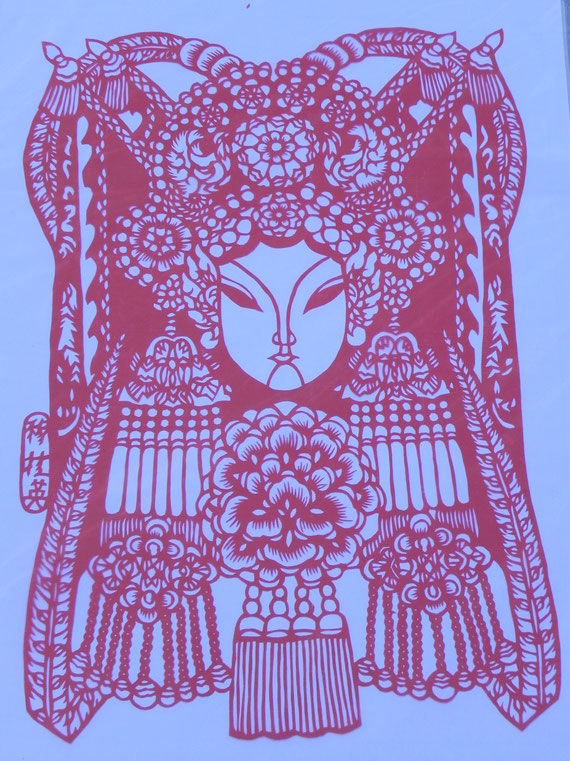 Jifeng 09 Chinese paper cutting