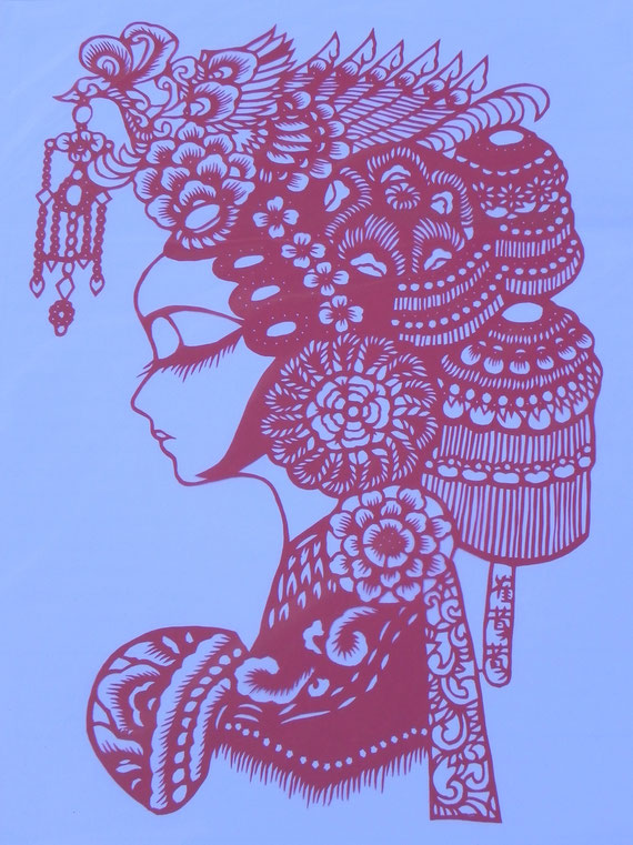 Jifeng 12 Chinese paper cutting