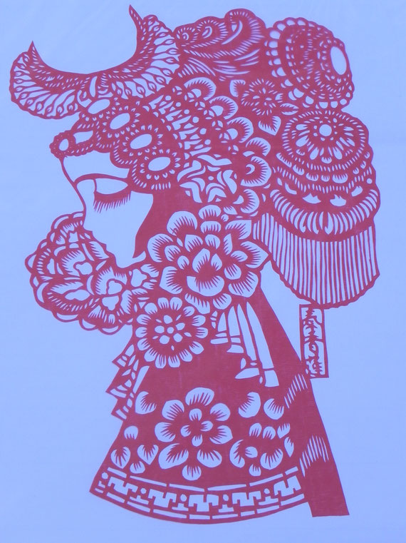 Jifeng 07 Chinese paper cutting