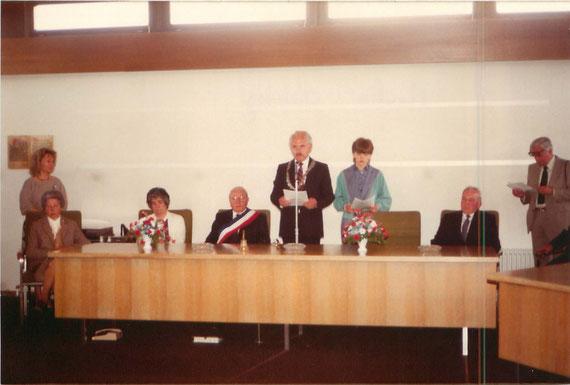 20ème anniversaire du jumelage Feurs - Olching