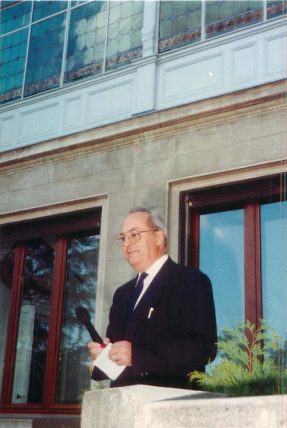 24 septembre 1994 - Inauguration du centre Musical du Château du Rosier