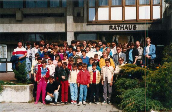 L'Ecole de Musique est invitée à Olching en 1987