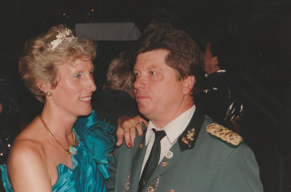 Königspaar      Ulrich I             Brigitte I                              1989-1992   Werner