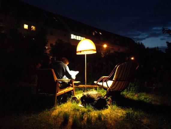 lesung mit andi stichmann in der LAGUNE, werner-uhlwormstr., erfurt