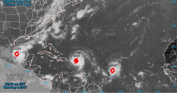 06.09.17: Und deswegen sind wir immer noch in Maine. Besonders wegen Irma, ein Megahurricane, der jetzt aber anscheinend Richtung Floriada ziehen wird