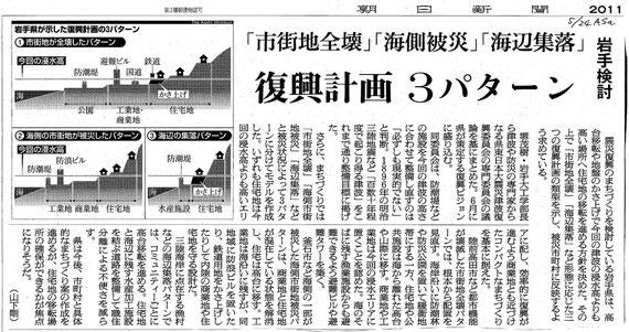 110524朝日新聞