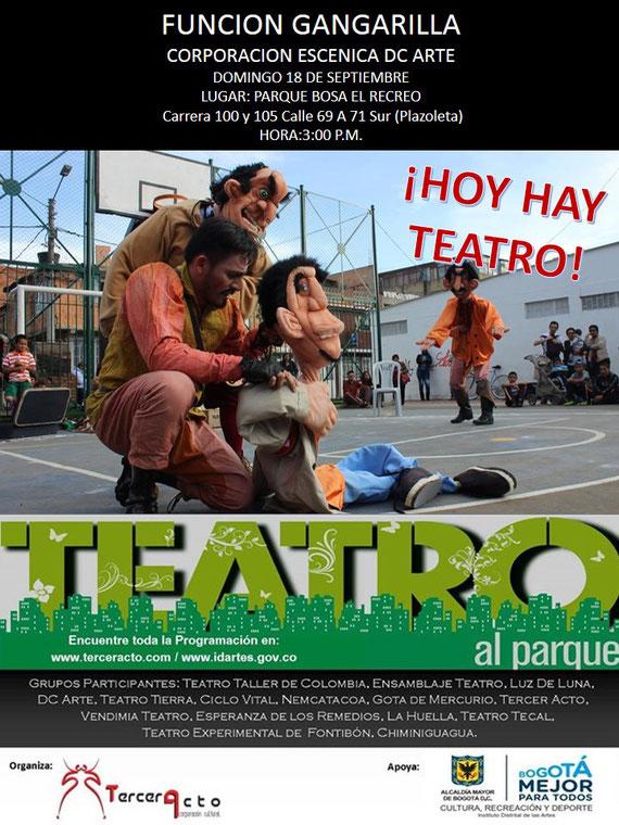 Gangarilla en Teatro al  Parque