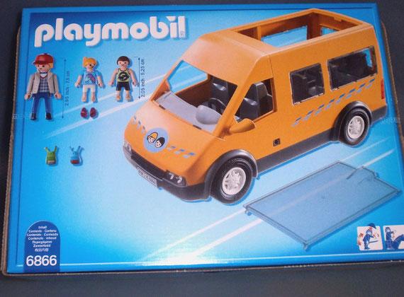 Playmobil 6866 Schulbus Rueckseite
