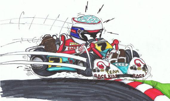 stage pilotage karting