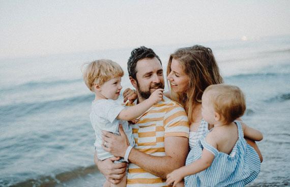 Endlich wieder entspannt fühlen und die Zeit als Familie genießen