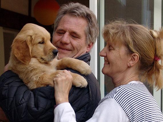 Abschied von Jacy, der uns nach Safenwil zu Brigitte, Harry und Sean verlässt.