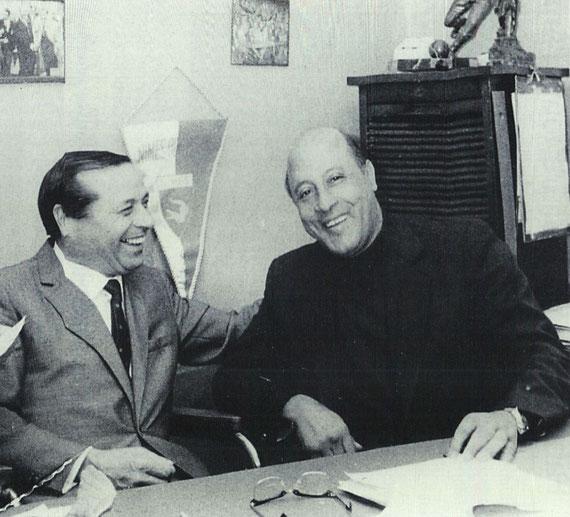 Paul Calabro et Kader Firoud