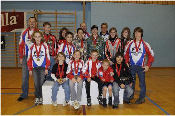Medaillengewinner an der Indoor Schweizermeisterschaft