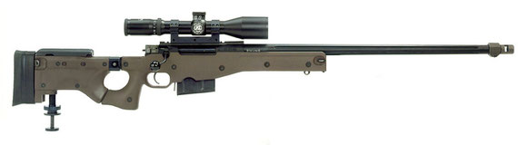 Accuracy International AWSM (Arctic Warfare Super Magnum) 338 Lapua