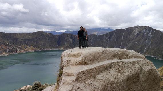 Quilotoa Volcanic Crater, Quilotoa Loop, Ecuador