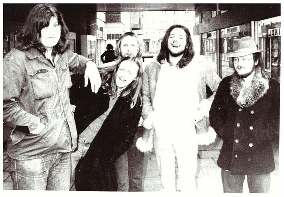 Holde Fee - Fototour zur 1. Demo Single - Braunschweig 1974