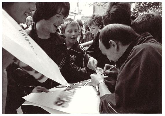 FEE - Autogrammstunde Show Eissporthalle Salzgitter Lebenstedt / 11. Mai 1983