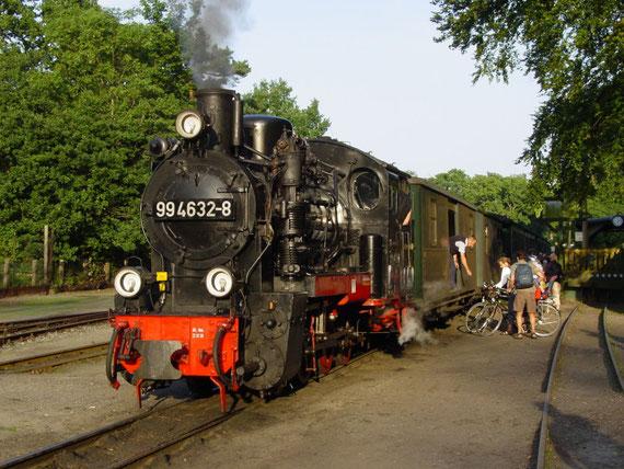99 4632-8 in Göhren am 19.08.05 © Maurice Ansorge