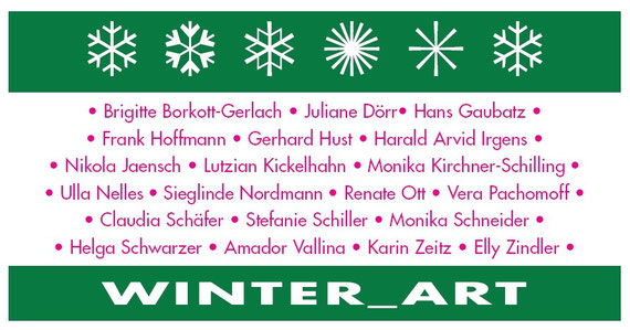 Amador Vallina at the Winter Art-Exhibition in Essenheim, Germany