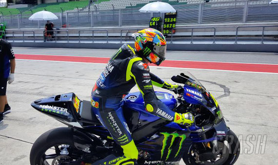 Valentino ROSSI - Sepang Test1 - 2019