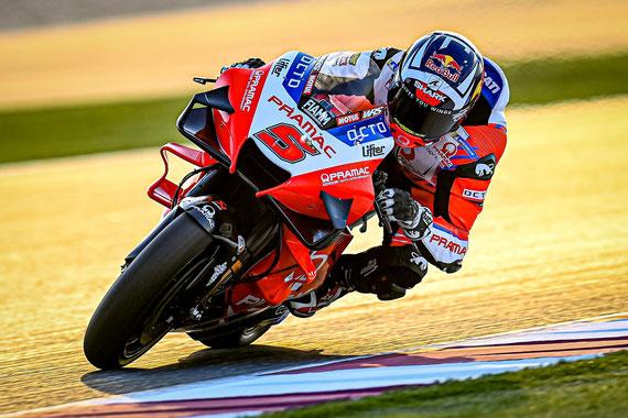 Johann ZARCO - 1er au championnat après les 2 courses au Qatar