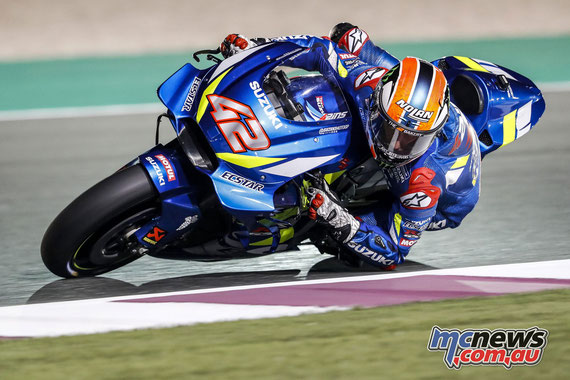 Alex RINS - Qatar test 2019