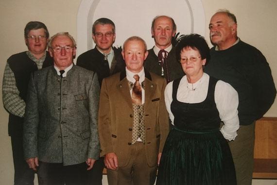 Funktionäre gewählt am 15.10.1999 bei der Gründungsversammlung