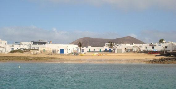 Playa del pueblo