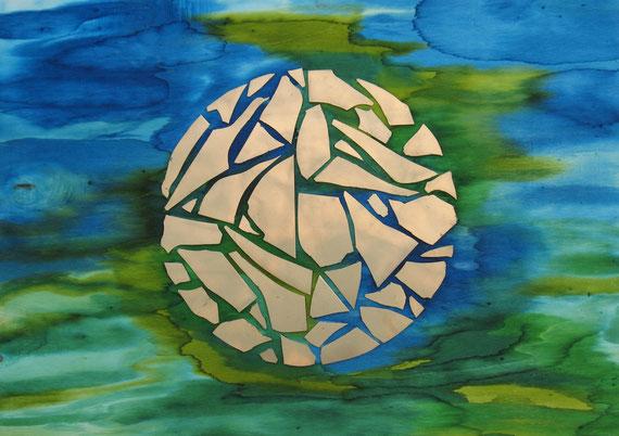 Jetzt schauen wir wie in einen Spiegel ... dann aber schauen wir von Angesicht zu Angesicht. 1 Kor 13,12. 2010 Heidi Esch