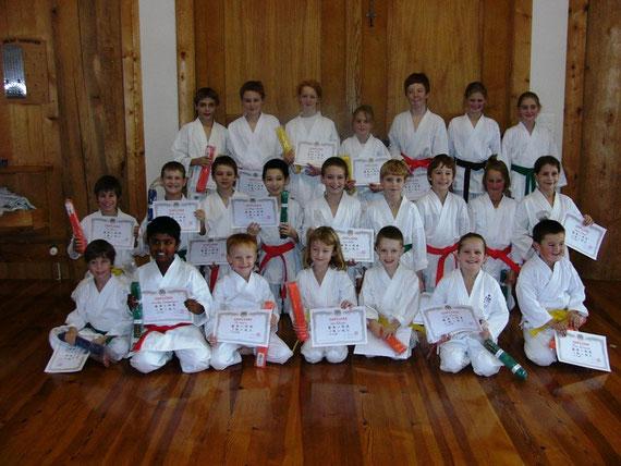 Kyu-Prüfungen vom 2. Dezember 2009