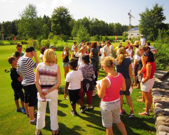 Golfturnier Helferfest