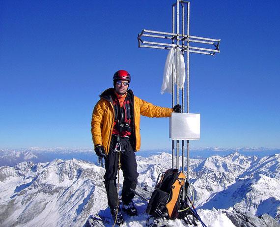 Ortler (3905 m)/Südtirol. Foto: Christian Hamm
