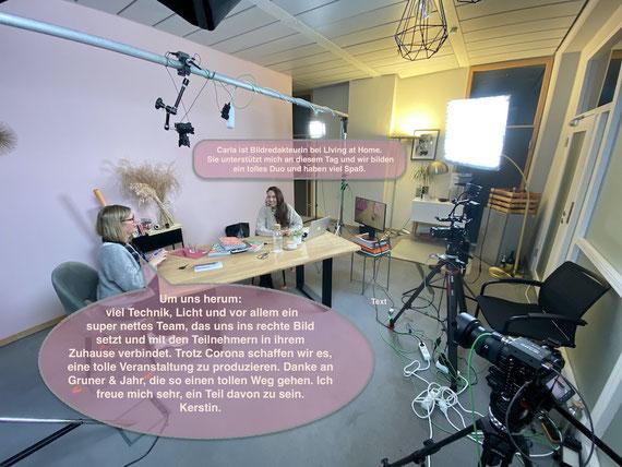 """Live mit dabei, beim ersten digitalen #kreativtagzuhause in den Hamburger Studios von Gruner & Jahr, den Machern von """"flow"""", """"HYGGE"""" und Co."""