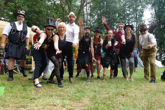Sambagruppe Red Hot Knipp Bremen - 20 Jahre