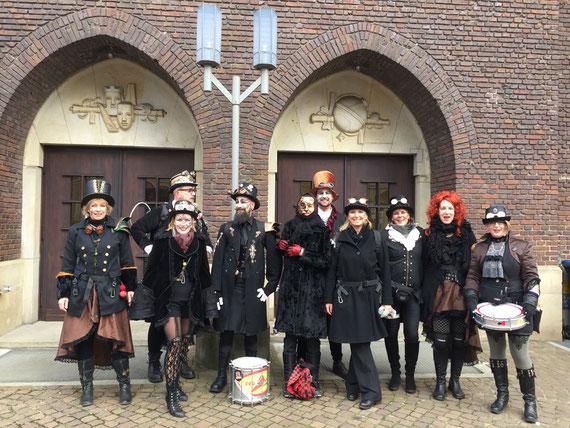 33. Bremer Karneval 2018 - Sambagruppe Red Hot Knipp Bremen