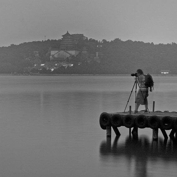 with fellow Photographer Renen Viola at The Summer Palace, Beijing China