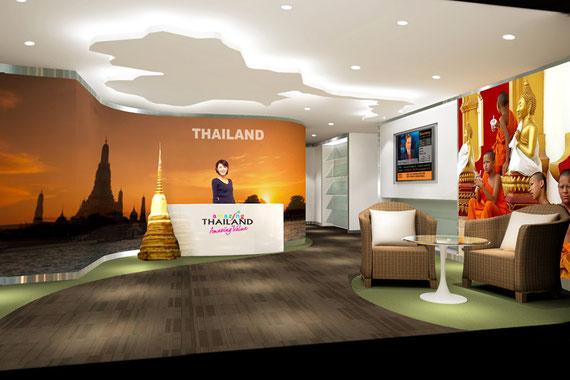 Interior Design Tourism Authority Of Thailand Kunming