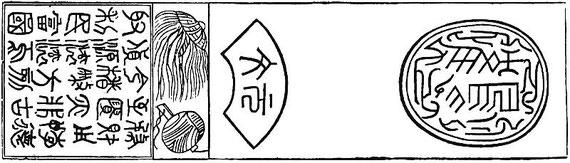 Ancien billet de banque chinois.