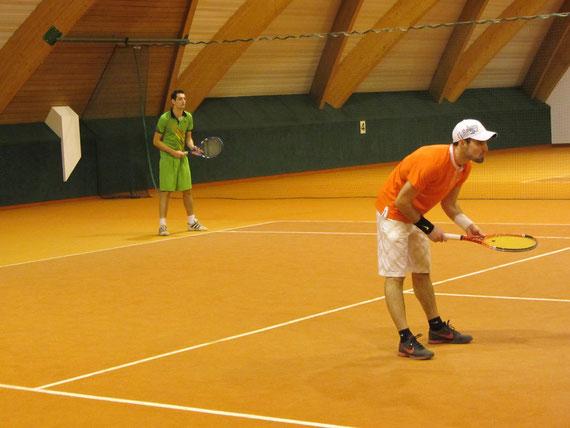 Markus und Jochen voll focusiert