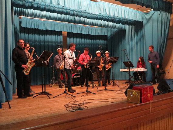 Groupe Sax. Soirée cabaret 31/01/2015