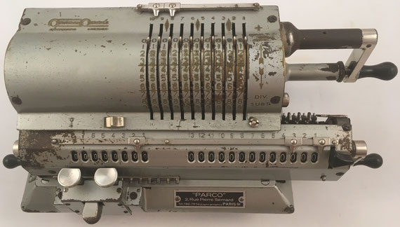 ORIGINAL ODHNER modelo 29, s/n 29-298025, año 1938, 36x15x12 cm