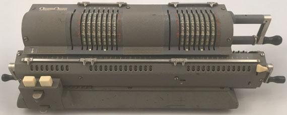 "ORIGINAL ODHNER modelo 135 ""Tandem"" (doppel), s/n 135-400131, capacidad 8x8x13, año 1951, 49x16x12 cm"