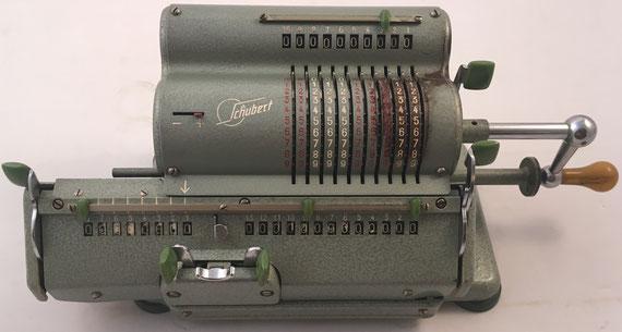 SCHUBERT RASTATT modelo DW, s/n 150705, año 1952, 33x15x14 cm