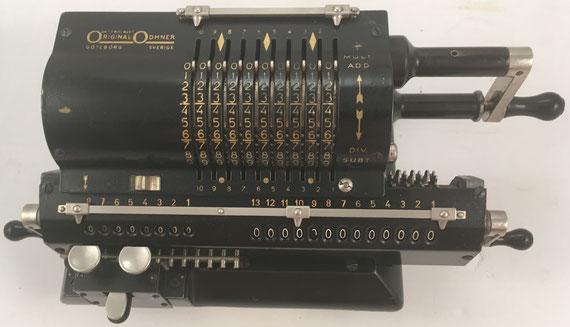 ORIGINAL ODHNER modelo 7, s/n 7-300687, año 1923, 35x15x12 cm