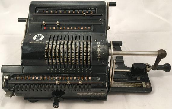 BRUNSVUGA 20, Brunsviga-Maschinewerke, Grimme, Natalis & Co, A-G, s/n 171270, año 1939, 40x23x17 cm